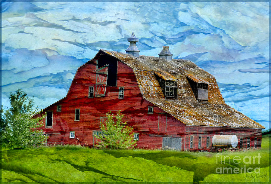 Boyle Barn by Judy Wood