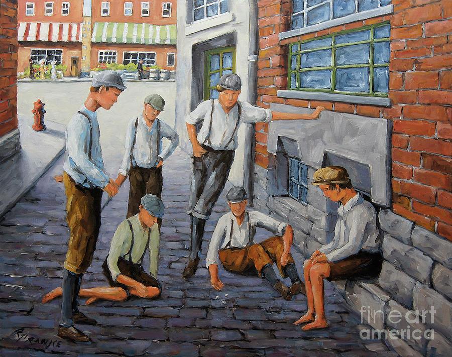 Boys in New York 1900 by Richard T Pranke