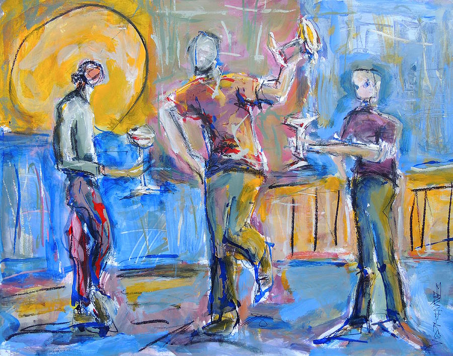 Boys Night Out by Mary Schiros