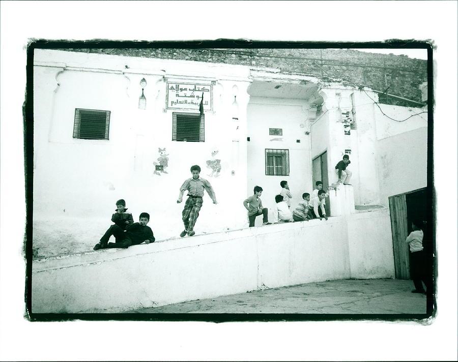 School Photograph - Boys School by Lynn Friedman