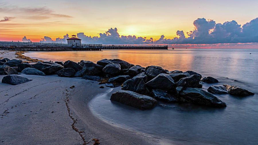 Boyton Beach Photograph - Boyton Beach Inlet by Nathan Arnold