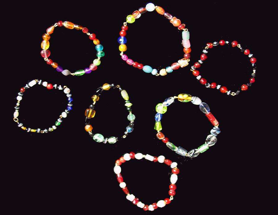 Bracelets Jewelry by Betty  Roberts