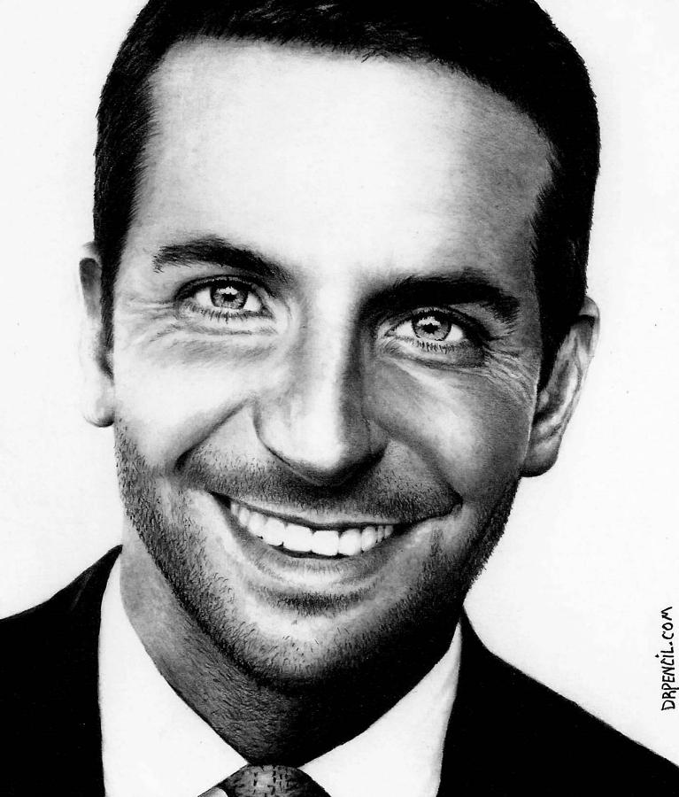 Bradley Cooper Drawing - Bradley Cooper  by Rick Fortson