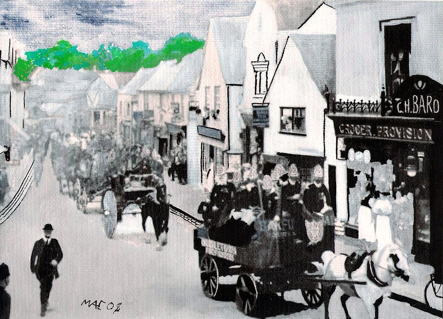 Bragade Parade Painting by Ricky McCarthy