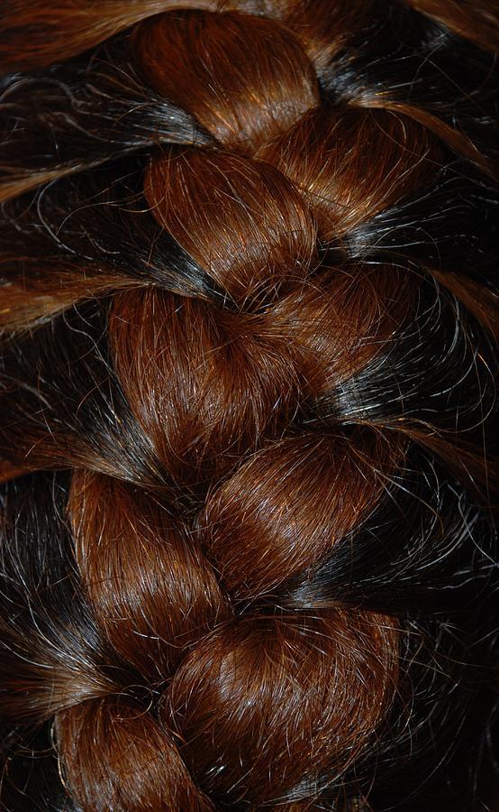Hair Photograph - Braids by Rob Hans
