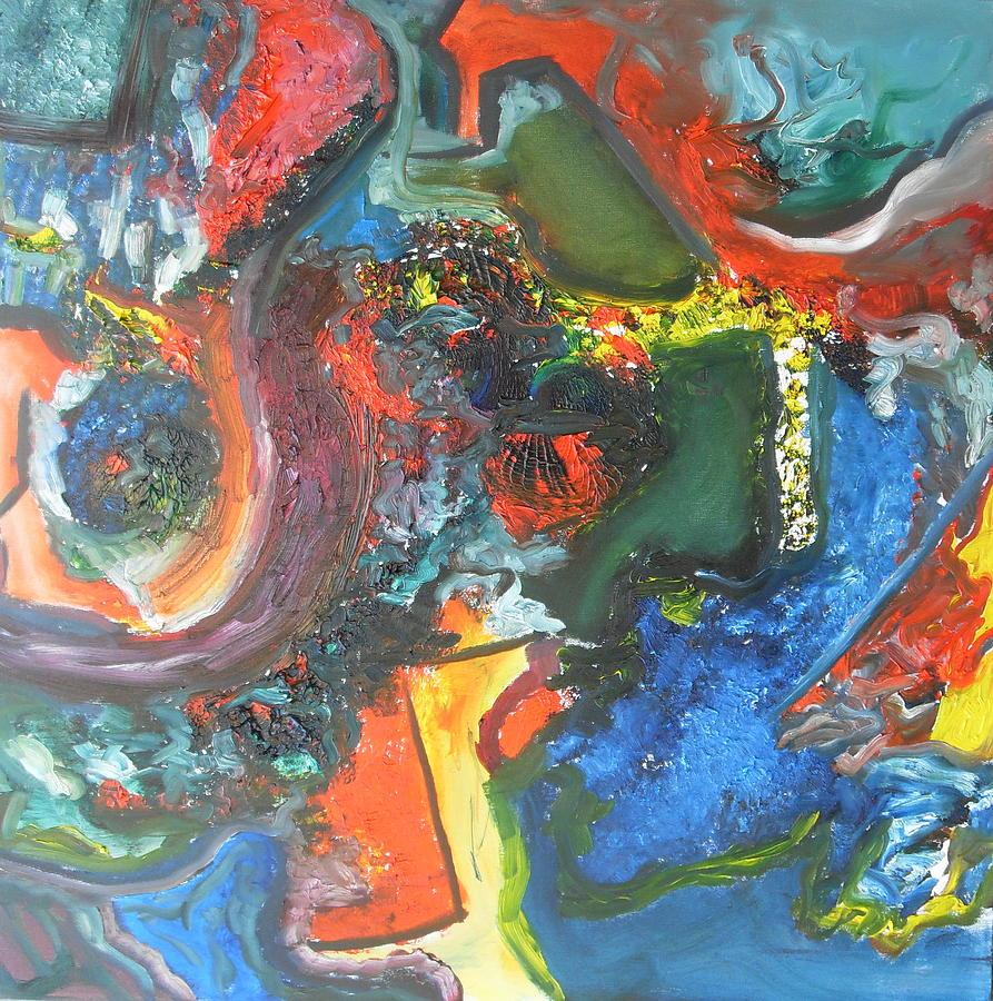 Brainstorm Painting by Helmut Licht