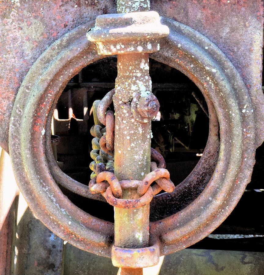 Brake Photograph - Brake Chain by Pat Turner