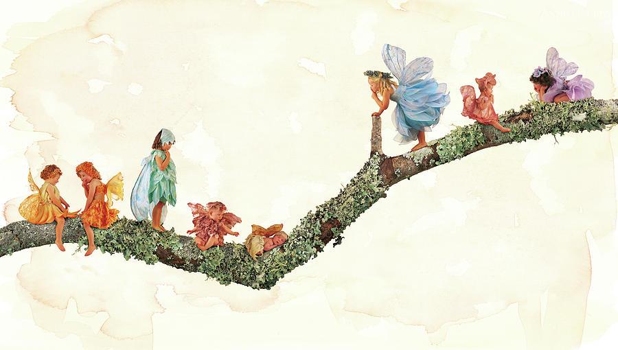 Fairies Photograph - Branch Fairies by Anne Geddes