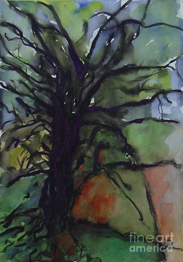 Branching Painting by Leila Atkinson