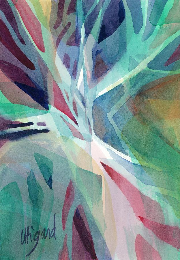 Branching Out Painting by Carolyn Utigard Thomas