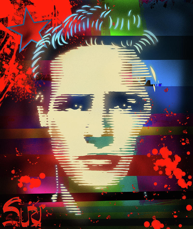 Brando Mixed Media - Brando Odyssey by Surj LA