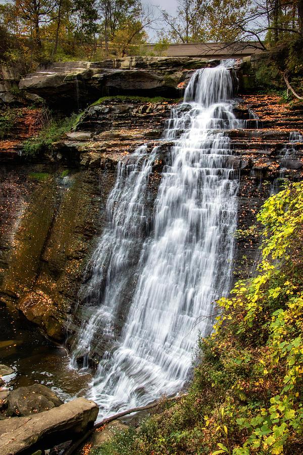 Brandywine Photograph - Brandywine Falls by Tom Mc Nemar