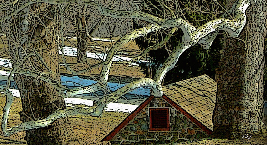 Brandywine Springhouse Photograph by Gordon Beck
