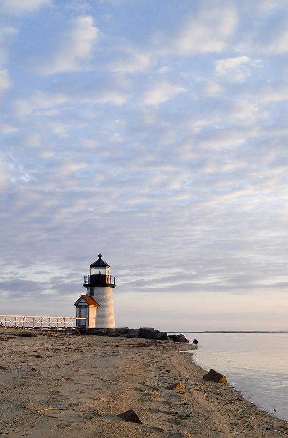 Nantucket Photograph - Brant Point Light - Nantucket by Henry Krauzyk