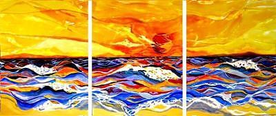 Brasil II Painting by Aline Sofia