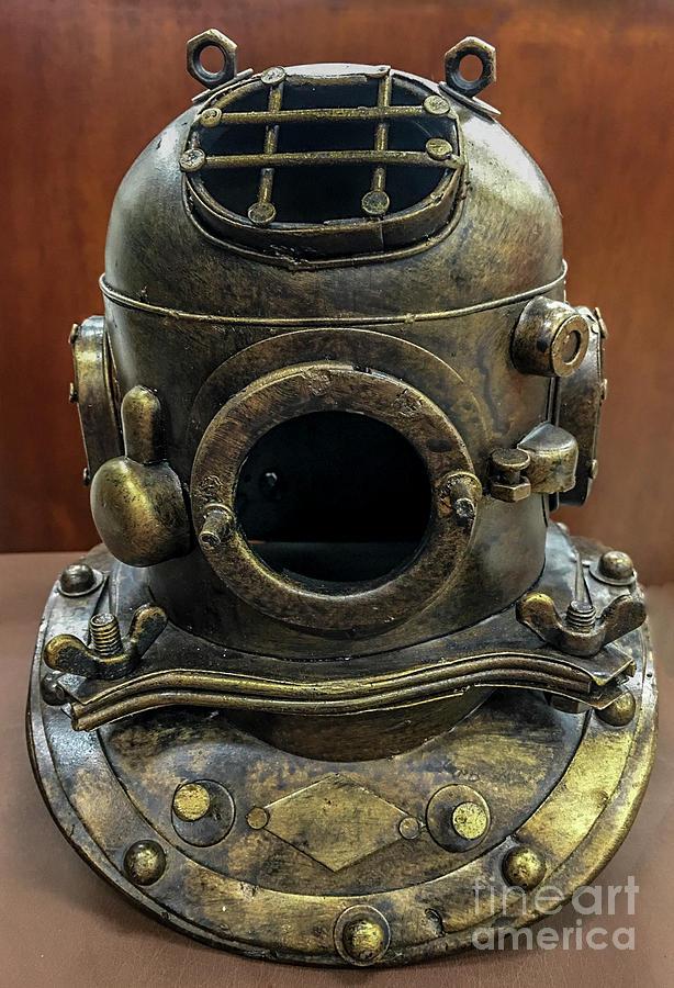 Brass Diver Helmet Photograph