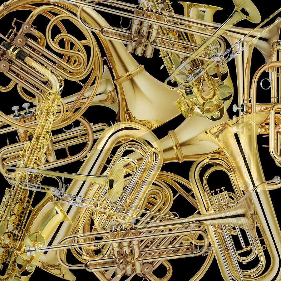 Brass Instruments Photograph by Andrew Fare