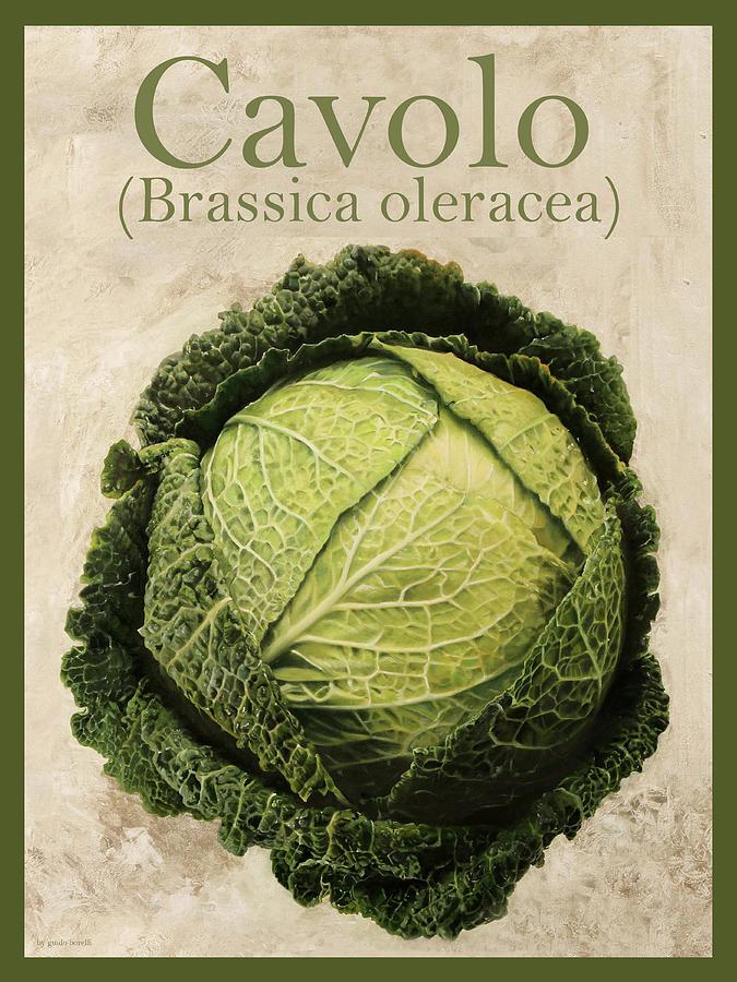 Brassica Oleracea Painting