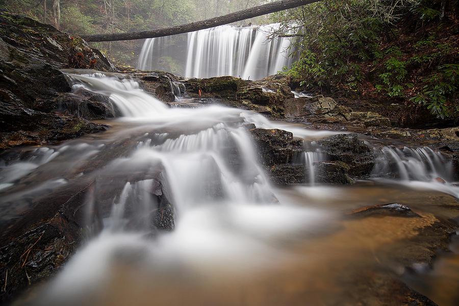 Brasstown Falls by Derek Thornton