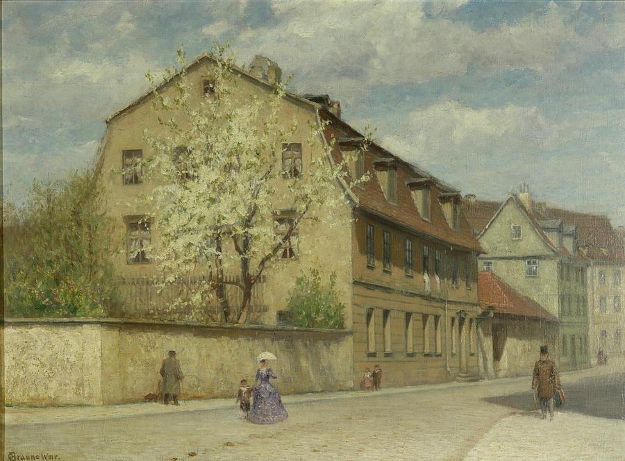 Weimar Painting - Braune Weimar by Christoph Martin Weiland