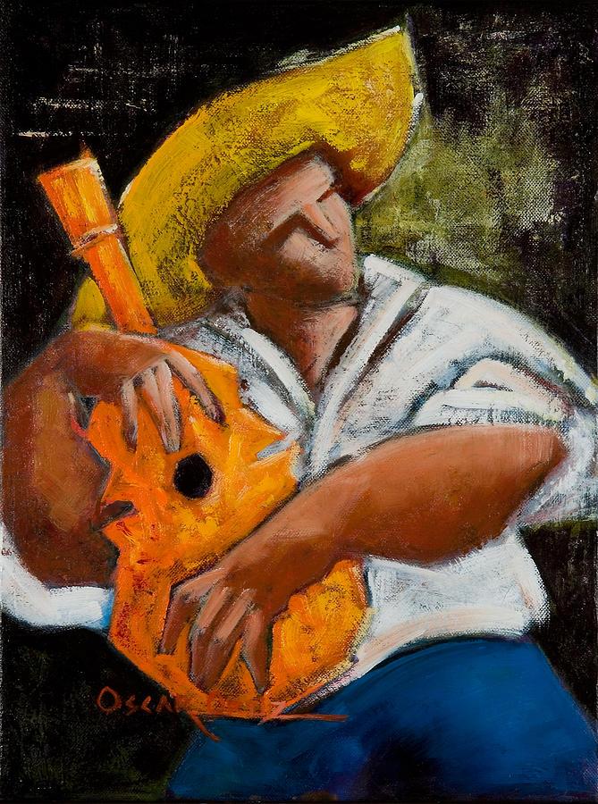 Puerto Rico Painting - Bravado Alla Prima by Oscar Ortiz