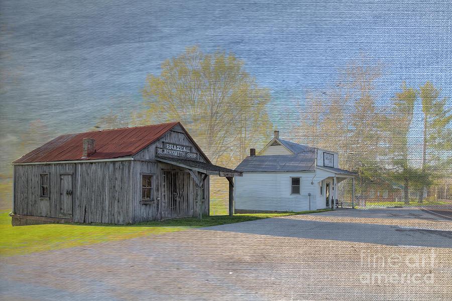 Hdr Digital Art - Brazeau Missouri  by Larry Braun
