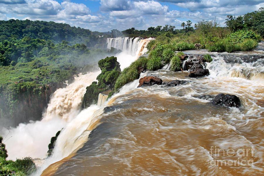America Photograph - Brazil,iguazu Falls, by Juergen Held