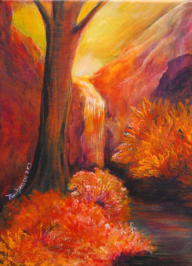 Landscape Painting - Break Of Dawn by Amy Stewart Hale