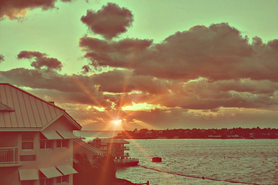 Key Photograph - Island Break Of Day by JAMART Photography
