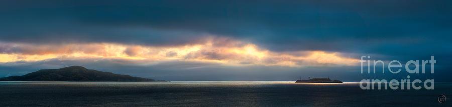 Sunrise Photograph - Break Through by Andy Wu
