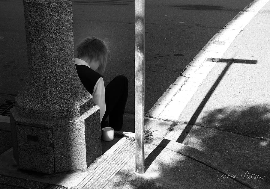 Cross Photograph - Break Time by Sabine Stetson