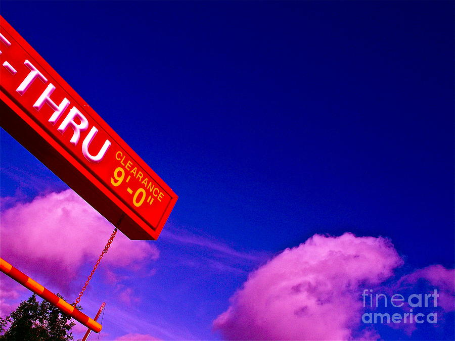 Fast Food Photograph - Break Today by Chuck Taylor