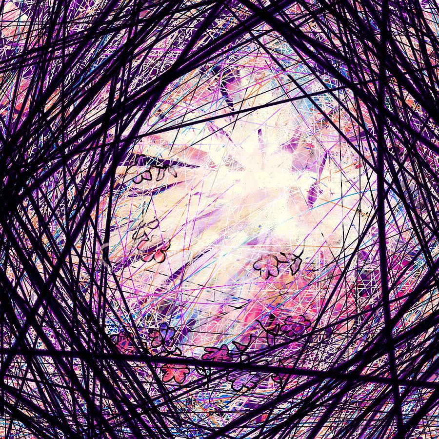 Abstract Digital Art - Breakdown by Rachel Christine Nowicki