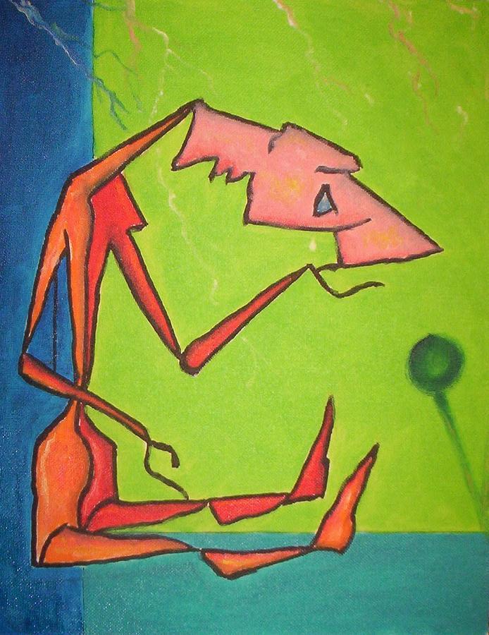Breakdown Painting by Richard Beckholt