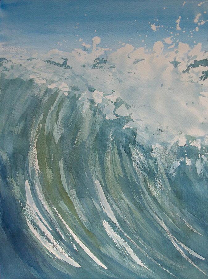 Ocean Painting - Breaker by Pete Maier