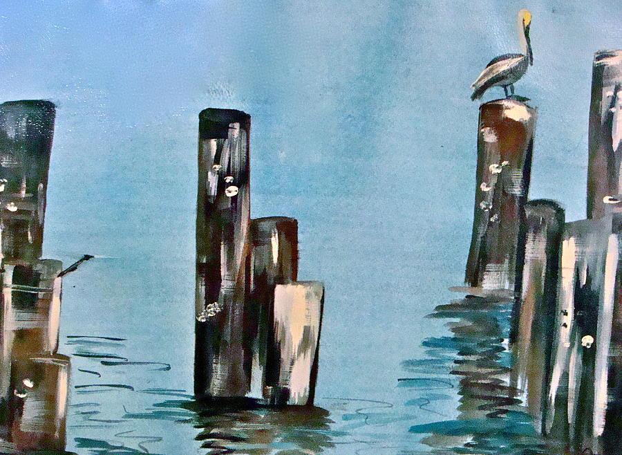 Landscape Painting - Breakfast At Dawn by Jennifer  Lane