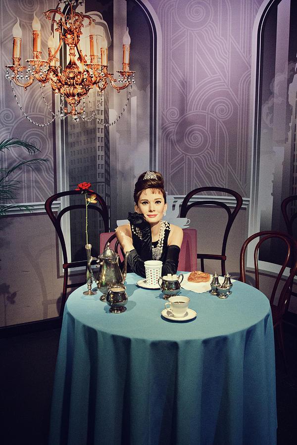 Little Black Dress Photograph - Breakfast At Tiffanys by Svetlana Yelkovan
