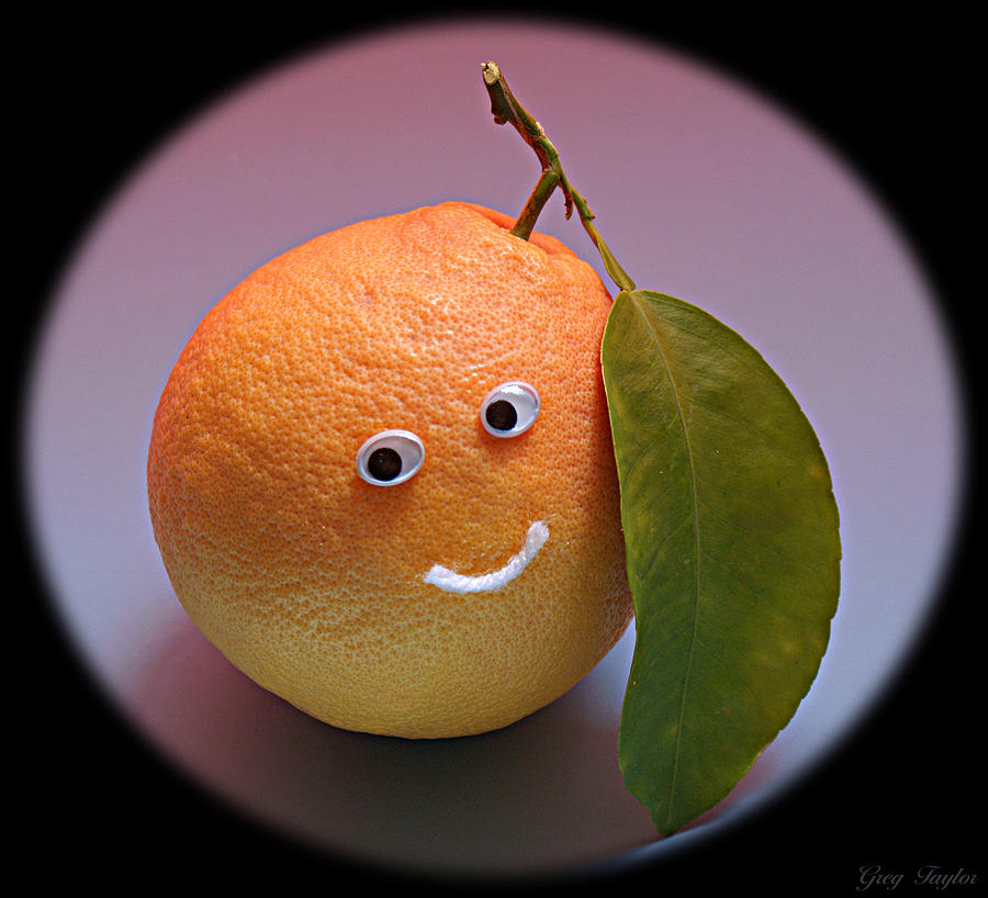 Fruit Photograph - Breakfast Smile by Greg Taylor