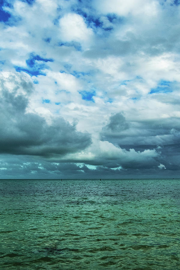Breaking Clouds in Key West, Florida by Bob Slitzan