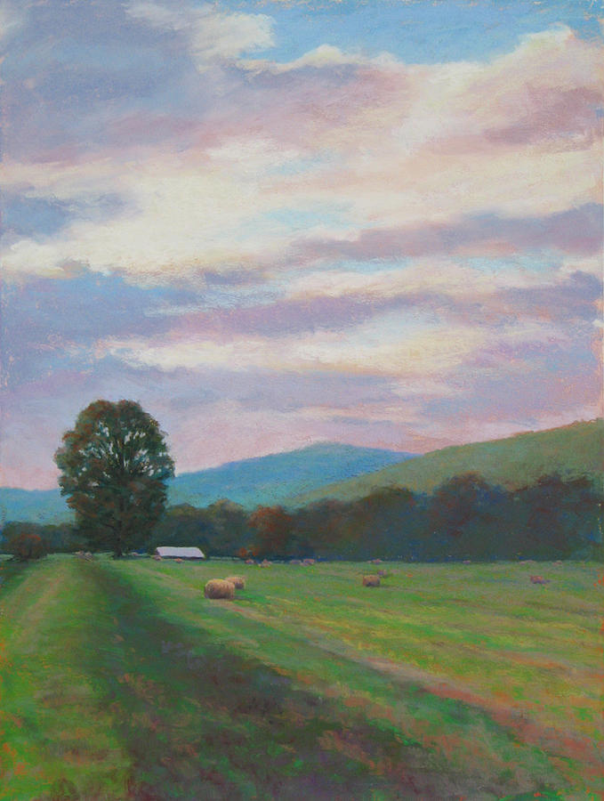 Landscape Painting - Breaking Clouds by Marsha Savage