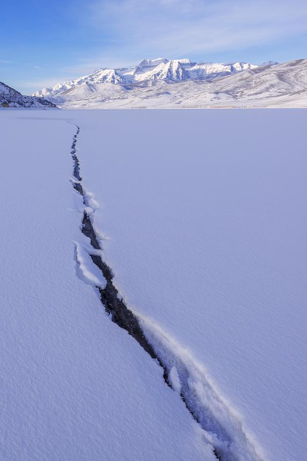 Utah Photograph - Breaking Ice by Chad Dutson