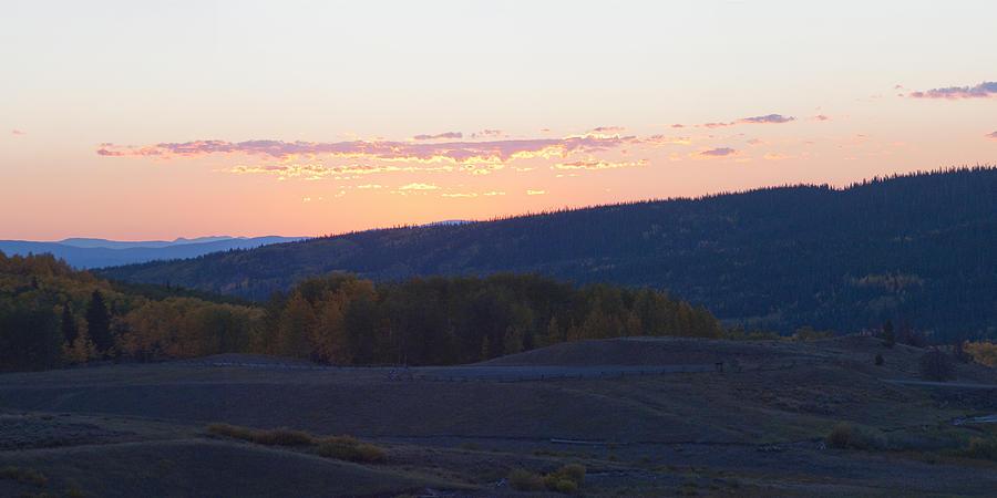 Predawn Photograph - Breaking Morn Over Gore Range by Daniel Hebard