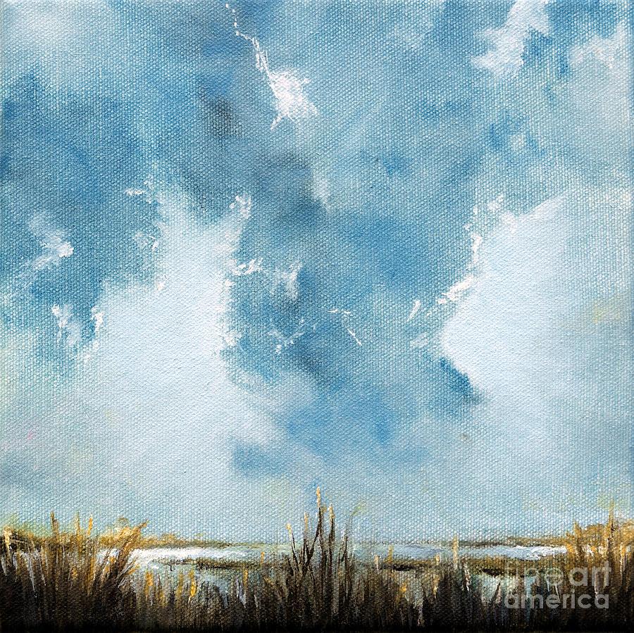 Cloud Painting - Breaking Through by Cindy Roesinger