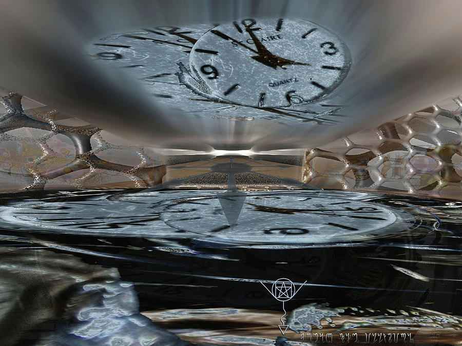 Breaking Through the Confines of Time by Another Dimension Art