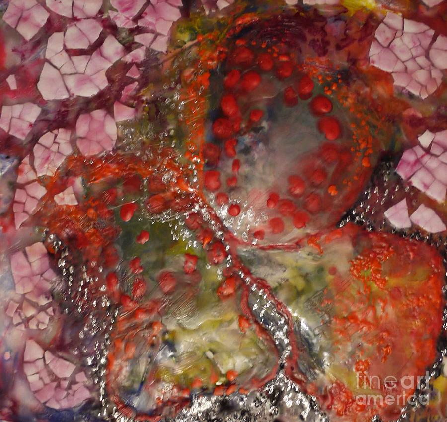 Butterfly Mixed Media - Breakthrough by Heather Hennick