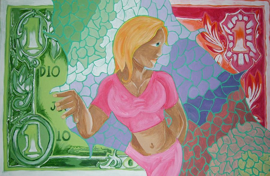 Money Painting - Breakthru by Shawn Hicks