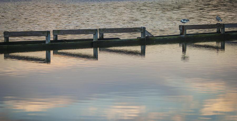 2009 Photograph - Breakwater Broken by Lauren Brice