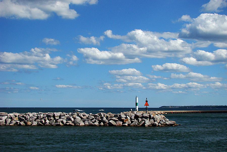 Milwaukee Photograph - Breakwater by Todd Zabel