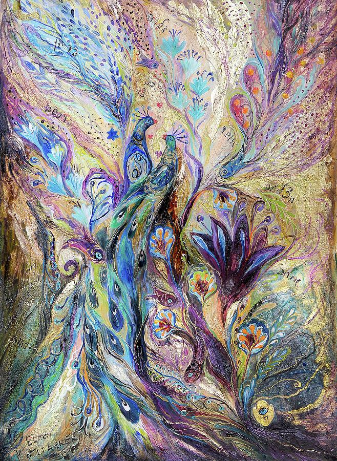 Original Painting - Breath Of Breeze by Elena Kotliarker