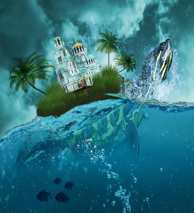 Paradise Island Digital Art - Breath Of Fresh Air by Solomon Barroa